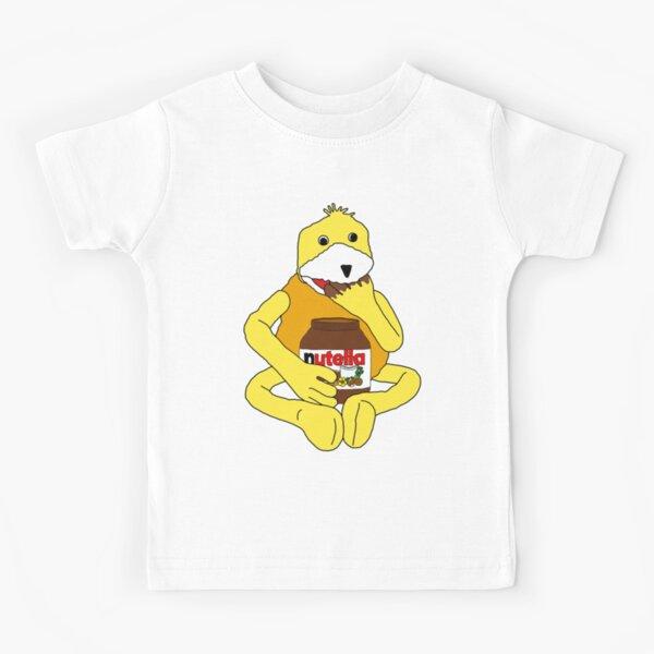 Flat E Nutella Therapy Kids T-Shirt
