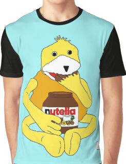 Flat E Nutella Therapy Graphic T-Shirt