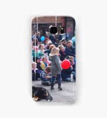 Entertaining the crowd Clunes Book Festival Victoria Samsung Galaxy Case/Skin