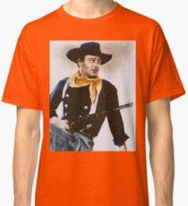 John Wayne, Vintage Hollywood Actor Classic T-Shirt