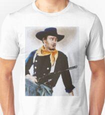 John Wayne, Vintage Hollywood Actor Unisex T-Shirt