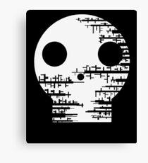 Skull-Under Construction Canvas Print