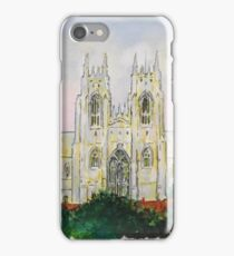 Beverley Minster from the Westwood. iPhone Case/Skin