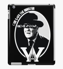 God Save the Minister iPad Case/Skin