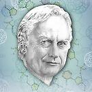Richard Dawkins by JudithzzYuko