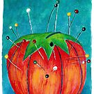 Tomato Pincushion by Bloomtown