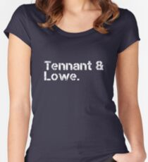 Pet Shop Boys [line-up] Women's Fitted Scoop T-Shirt