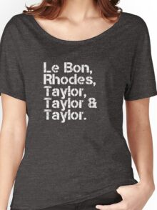 Duran Duran [line-up] Women's Relaxed Fit T-Shirt