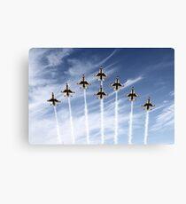 The US Air Force Thunderbirds Canvas Print
