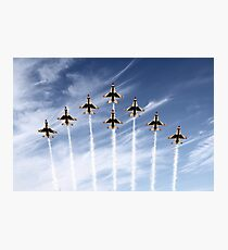 The US Air Force Thunderbirds Photographic Print