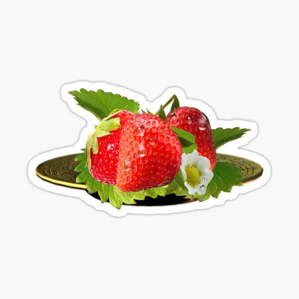 Erdbeeren Sticker