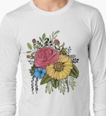 SUNFLOWER & ROSE T-Shirt