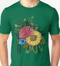 SUNFLOWER & ROSE T-Shirt