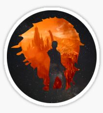 Leaving Gallifrey Sticker