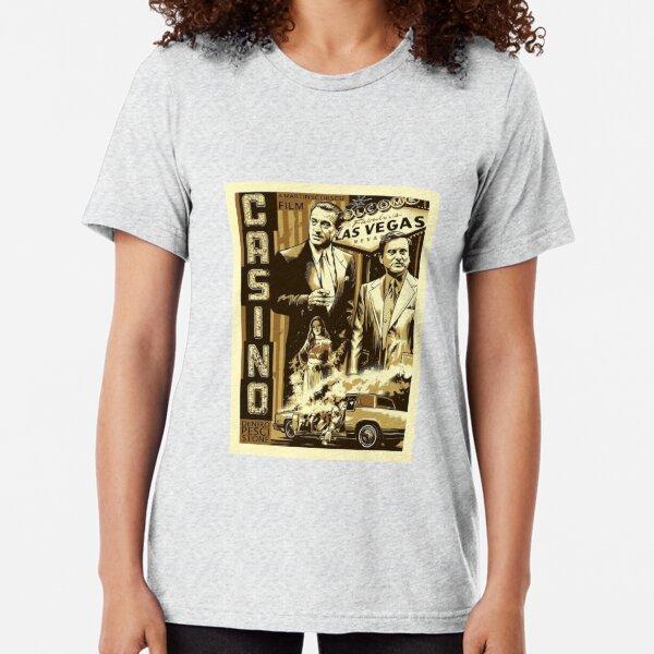 Casino Robert DeNiro Mafia Gangster Tri-blend T-Shirt