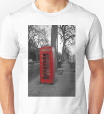 London Telephone Box T-Shirt