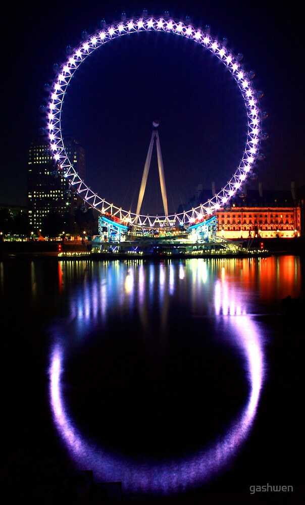 The London Eye by gashwen
