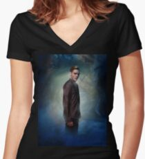 Shadowhunters - Jace Women's Fitted V-Neck T-Shirt