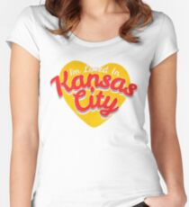 KC Loved Women's Fitted Scoop T-Shirt