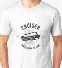 Cruiser - Waterway to Live T-Shirt