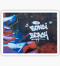 Bondi beach graffiti  Sticker