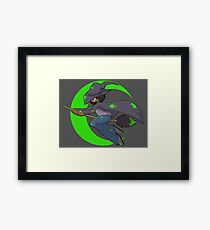 Paint and Witchcraft Framed Print