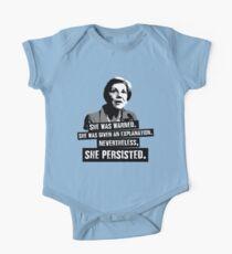 Elizabeth Warren: She Persisted Kids Clothes