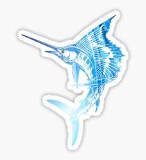 Sailfish Blues Sticker