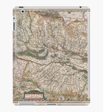 Antique Map - Jansson's Alsace, France (1644) iPad Case/Skin