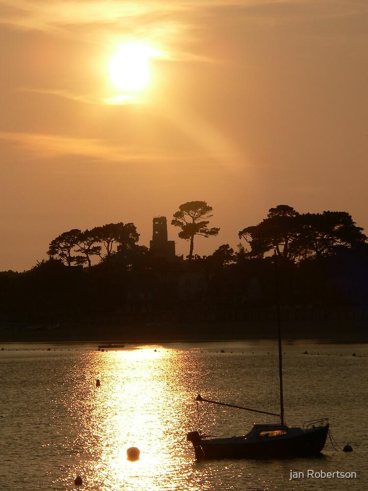 spectacular sun set by jan Robertson