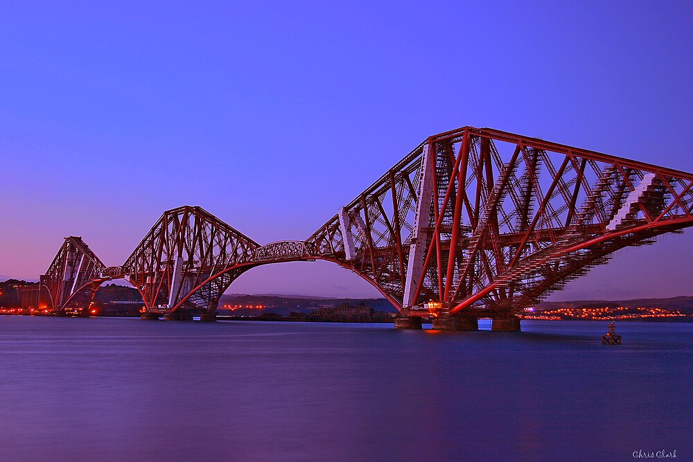 Forth Bridge-Queensferry-Scotland by Chris Clark