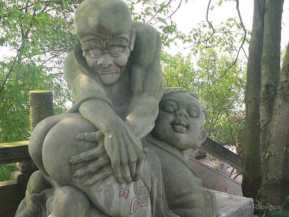 Intimate statues by jan Robertson