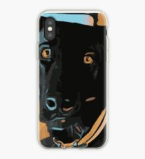 Max the dog iPhone Case