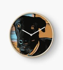 Max the dog Clock