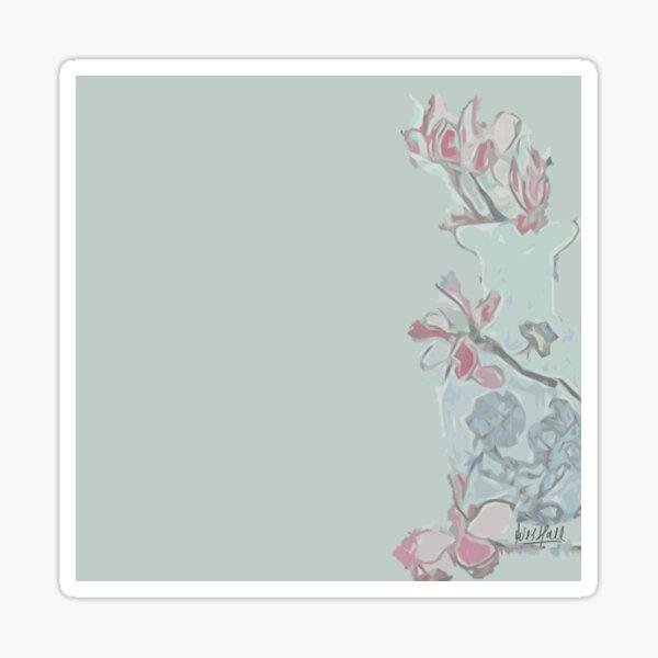 Magnolia's in a vase Sticker