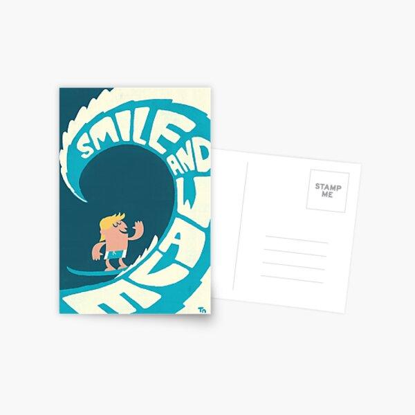 Smile and Wave Postcard