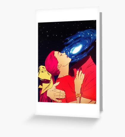 True Love - Galaxy Greeting Card