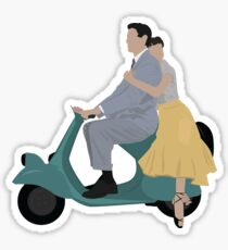 Roman Holiday Movie Sticker