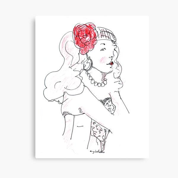 Miss Nic Canvas Print