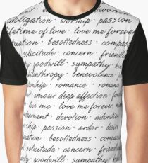 What Is Love? Graphic T-Shirt