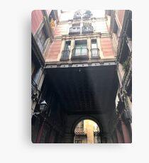 Rue d'Espagne Metal Print