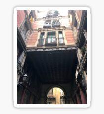 Street of Spain Sticker