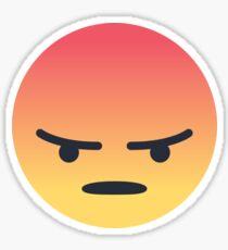 Facebook Angry Reaction Angery Meme v2 Sticker