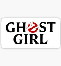 Ghost Girl (Classic) - Ghostbusters Sticker