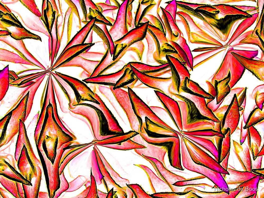 Pastel Leaves by Nick de Boos