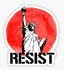 RESIST with LIBERTY Sticker