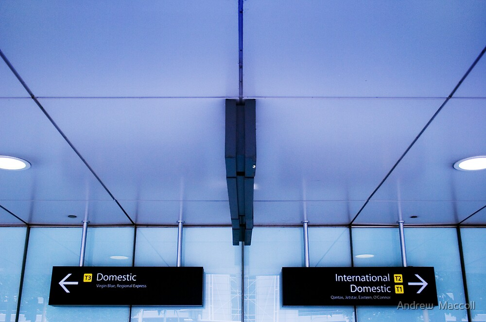 Departure Lounge by Andrew  Maccoll