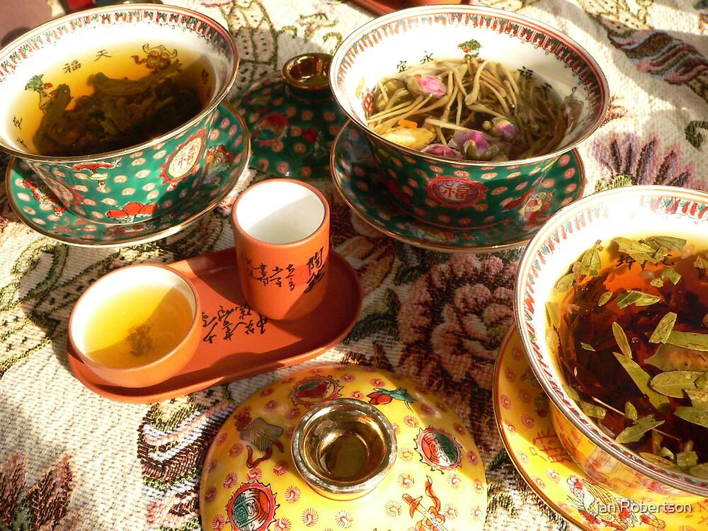 Chineese Tea by jan Robertson