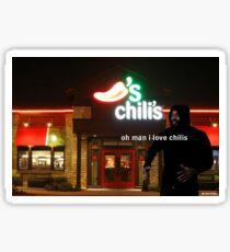 death grips chili's endorsement Sticker