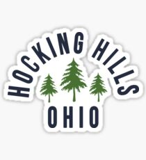 Hocking Hills State Park Ohio Sticker